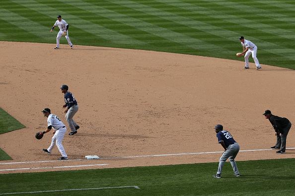 MLB Teams Shift