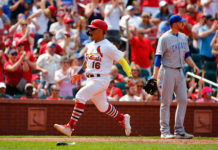 Cardinals sweep