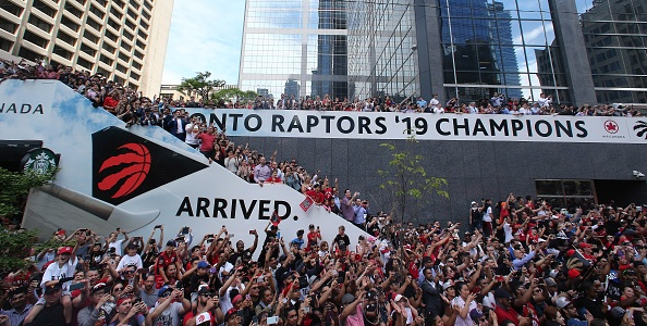 Raptors Have Risen to the Top
