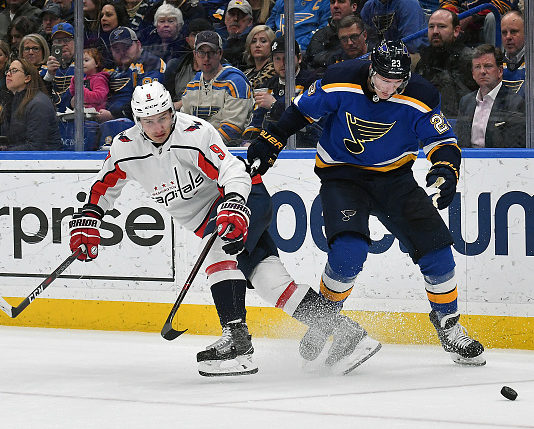 NHL Schedule: Capitals vs Blues