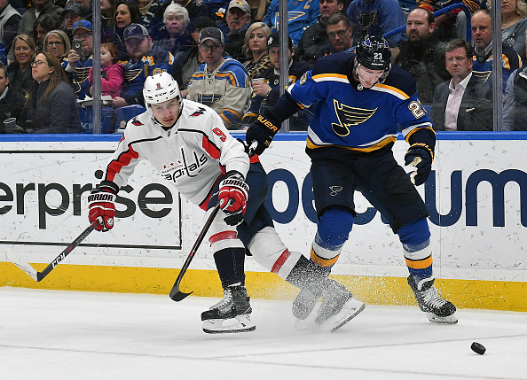 NHL Schedule: Capitals vs Blues