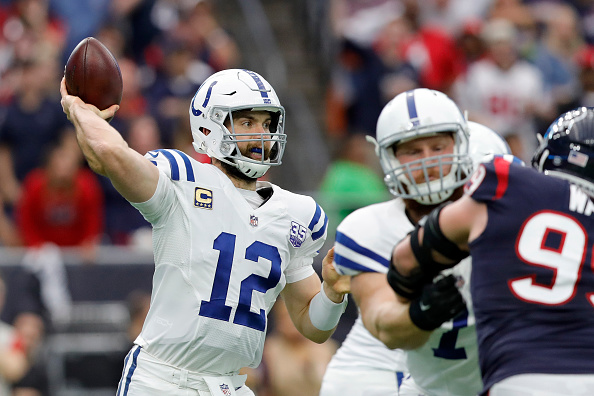 AFC South Quarterback Rankings - Andrew Luck looks to pass