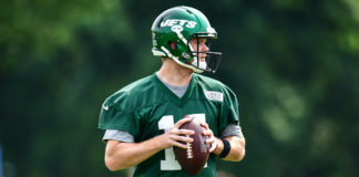 AFC East Quarterback Rankings - Sam Darnold during day two of mandatory minicamp
