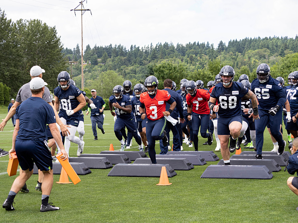 2019 Seattle Seahawk Outlook: Rusell Wilson leads team in drills