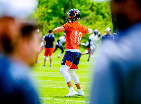 NFC North Training Camp Preview: Mitchell Trubisky