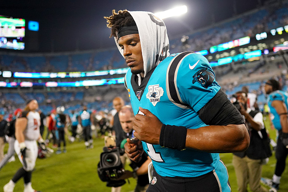 Winless NFL Teams - 2019 Panthers start 0-2