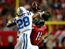 NFL Week Three - Falcons versus Colts