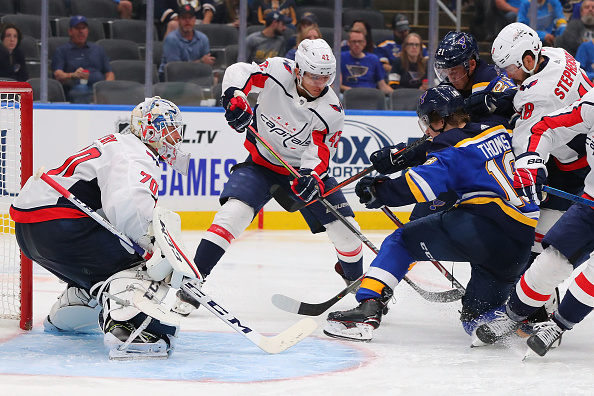 NHL Opening Night - Washington Capitals vs. St. Louis Blues