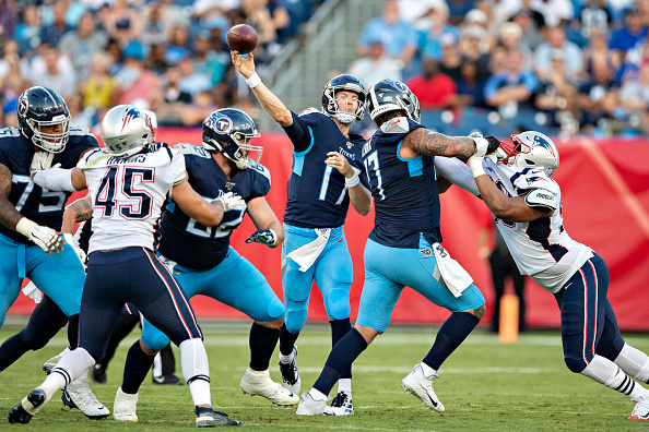NFL Wild Card weekend - Tennessee Titans at New England Patriots