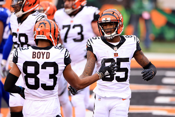Cincinnati Bengals Wide Receivers' Grades