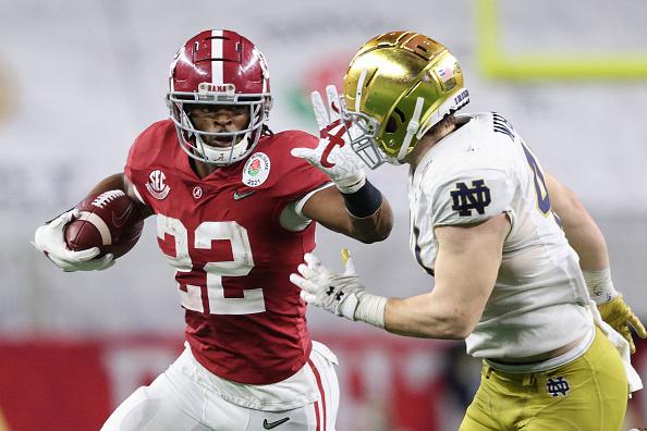 Top Three Running Backs in the NFL Draft