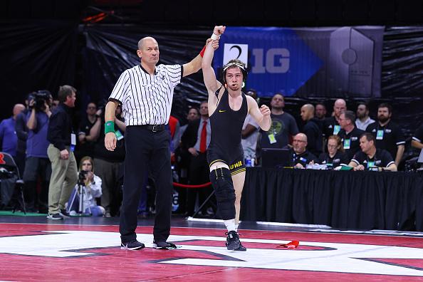 Spencer Lee Wins